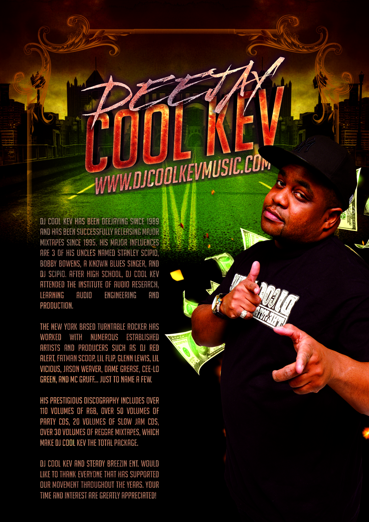 BIO - DJ Cool Kev