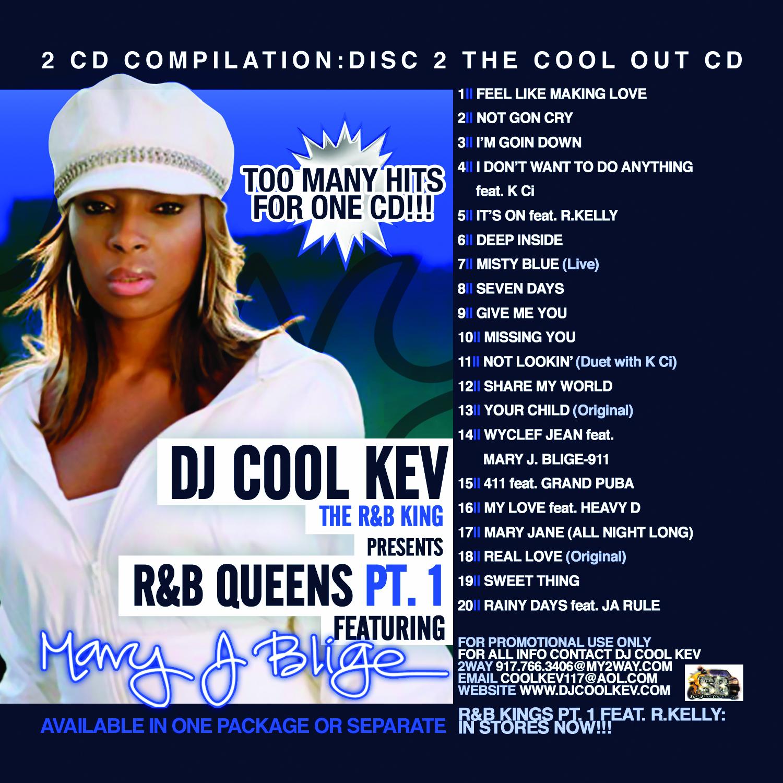 Dj Cool Kev Best Of Mary J Blige Cd 2 Dj Cool Kev